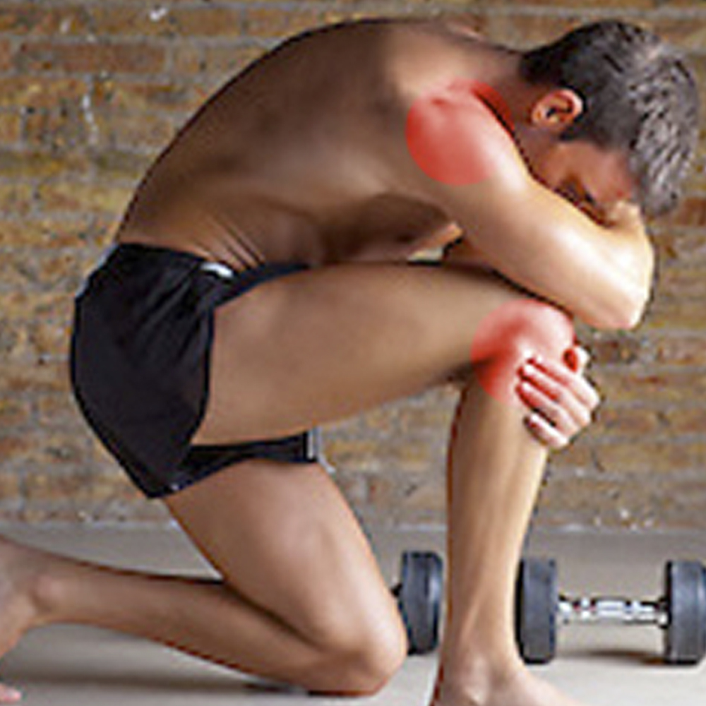 Knee and shoulder pain